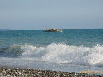 морские прогулки в Абхазии