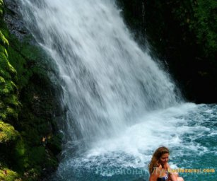 Гармония на Аацынском водопаде