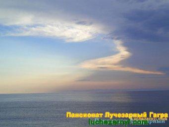 Вечер Абхазия море