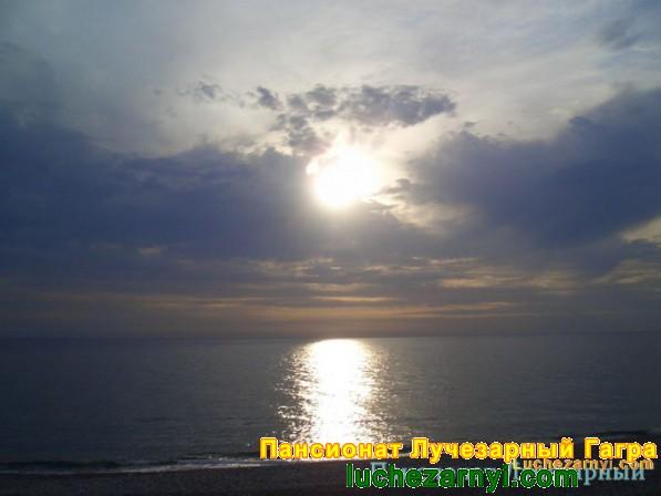 Море солнце
